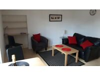 Sunny 2nd Floor fully furnished 1 bedroom flat in central location off Grieg Street .