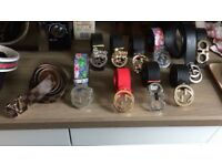 Job lot of 12 x ladies designer belts only £120 for all