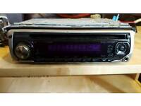 Kenwood Car Radio, 2x speakers and amp