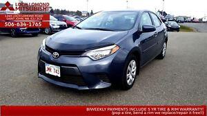 2016 Toyota Corolla LE - ONLY $155 BIWEEKLY
