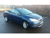 2009 FORD FOCUS CC-1 CONVERTIBLE MET BLUE,LOW MILES,GREAT VALUE
