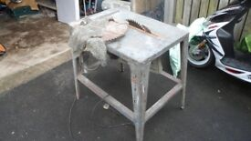 TABLE/BENCH SAW 1975