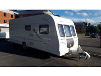 Bailey Olympus 504 4/5 berth with remote-controlled Motor Mover. No smoking, No pets. Great Price