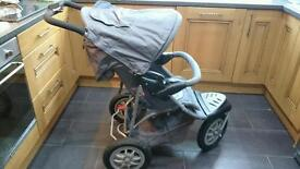 Mothercare xtreme travel system buggy