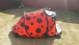 Ladybird pop up tent
