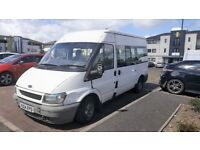 FORD TRANSIT 9 SEATER MINIBUS, only 99k MILE FROM NEW SPARE OR REPAIR PX SWAP OK