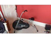 Exercise Bike Bicycle V-Fit Mini Computerised Cardio Elliptical Crosstrainer Trainer