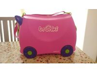 Pink 'Trunki' childs Travel Suitcase