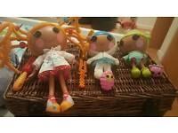 3 Lalaloopsy dolls