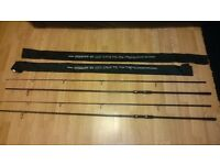 Shimano hyperloop bx Carp rods x3