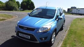FORD KUGA 2.0 ZETEC TDCI AWD,2009,Alloys,Air Con,Cruise,Park Sensors,Privacy Glass,Very Clean