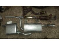 03 1.4 Ford Focus full exhaust systems