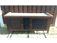 Heather Rabbit Hutch The Hutch HasTwo Doors Great Condition.