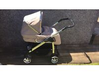 Silvercross Linear & Car seat with footmuff and raincovers