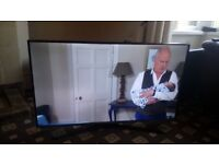 SAMSUNG 43 LED TV SMART/WIFI/400HZ/FREEVIEW HD/MEDIA PLAYER/ULTRA SLIM/GLOSS TV STAND/NO OFFERS