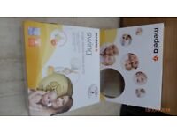 The Medela Swing single electric breast pump with phase two system(as new. not used)