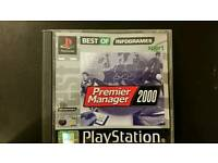 PS1 game Premier Manager 2000