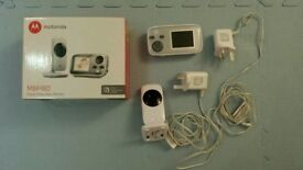 Motorola MBP482 Digital Video Baby Monitor