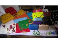 job lot of womens footwear, bags and accessories all NEW!!!!!!