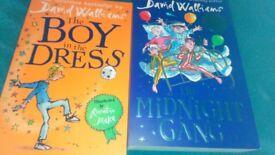 David Walliams Brand new books