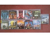 Bundle of 2nd hand PS3 Games