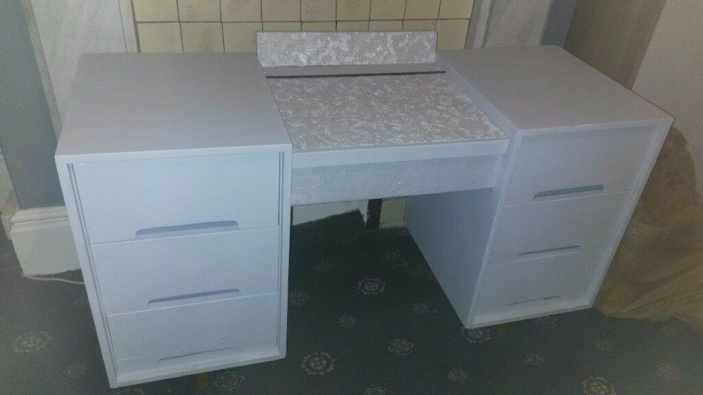 SOLD 15.11.17 Upcycled Dressing Table / Desk *Quick sale needed*