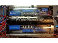 Power Acoustik Fire & Ice 600W Car Amplifier