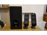 Logitech Speakers and Sub