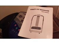 MASSAGE MACHINE THAT KEEP YOU FIT AND HEALTHY WITHOUT STEPPING IN GYM. KEEP FIT AND SAVE MONEY.