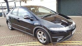 Honda Civic 1.8 i-VTEC SE Hatchback 5dr Petrol Low mileage 58K 1 previous ownr All Service stamp.