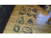 Job lot Xbox 360 AV leads & power cord
