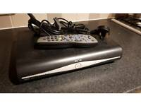 Sky HD Box with cables and brand new remote