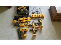 Dewalt tools job lot