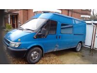 Transit camper spares or repair