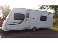 Lunar Clubman SB, 2012, Fixed single beds, End Bathroom, Motor Mover, all in excellent condition