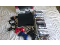 Ps3 , 30 games , 4 controllers