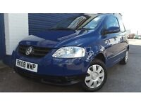 2008 VOLKSWAGEN FOX 1.2 BLUE FULL SERVICE IMMACULATE LOW MILEAGE CHEAP INSURANCE