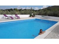 SELF CATERING HOLIDAY COTTAGE FOR 2 +1 CATALONIA , SPAIN WITH 10 X 5M POOL