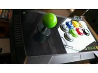 HORI RARE ARCADE FIGHTING STICK EX FOR ORIGINAL X BOX JOYSTICK