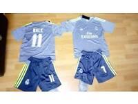 Real Madrid kids football kits