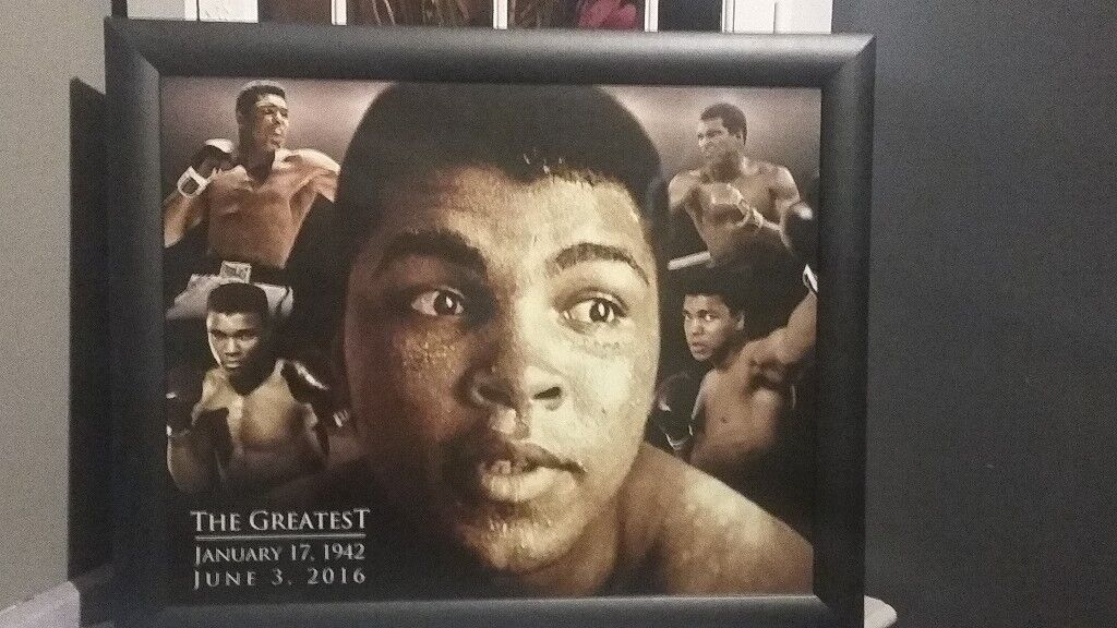 Muhammad Ali Framed Picture   in Tyldesley, Manchester   Gumtree