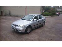 Vauxhall Astra 2003 53 reg 1.6 Petrol Manual **78,000 miles**