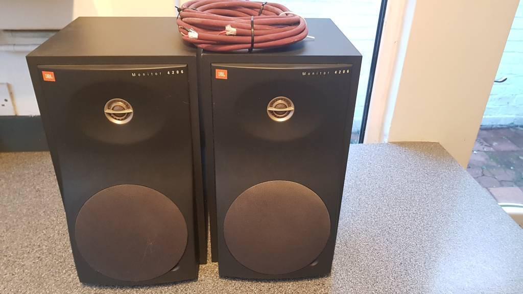 JBL Monitor speakers (4206)