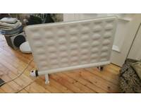 Slimline electric heater