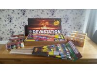 105 piece firework display £220