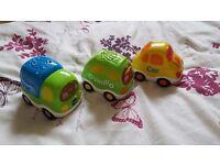 vtech toot toot car bundle 6