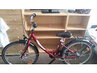 Red bike, medium size