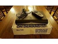 Sky+HD Box with Remote & Power Cable