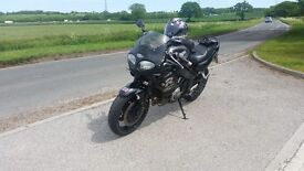 Motorcycle 2002 triumph rs sprint
