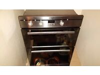 Indesit Double fan oven